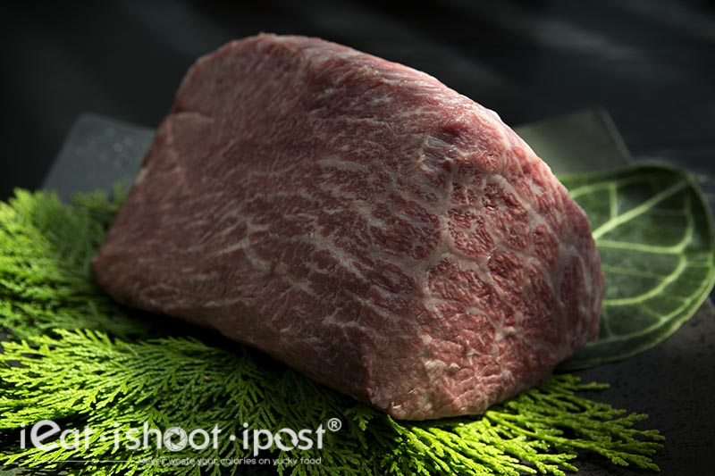 Nakaniki is the Eye of the Round beef cut from Wagyu cattle breed